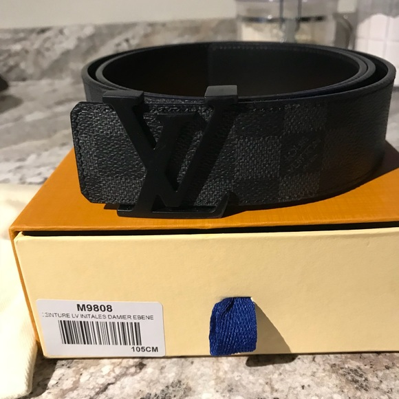 750245797b06 Men s Louis Vuitton Men s Damier Graphic Belt